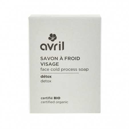 Avril - Savon solide Visage saponifié à Froid - Détox - Naturel, Vegan & Bio - Select Store Cosmétiques Vegans