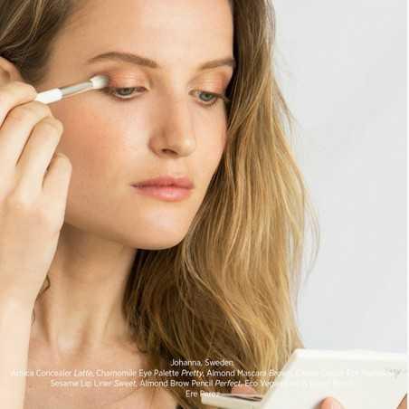 Ere Perez - Pinceau à paupières Estompeur & Eye Liner - Accessoire Maquillage Vegan & Naturel - Select Store Cosmétiques Vegans