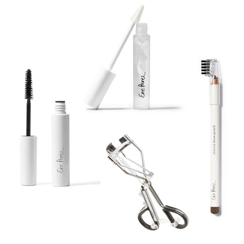 Ere Perez - Coffret cadeau beauté du regard - Essentiel du maquillage - Vegan, Clean & Bio