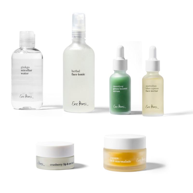 Ere Perez - Coffret Routine Complète - Visage - Vegan & Naturelle - Select Store Cosmétiques Vegans