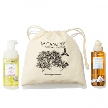 La Canopée - Coffret Routine Visage - Huile démaquillante et mousse nettoyante - Vegan & 100% Naturelle