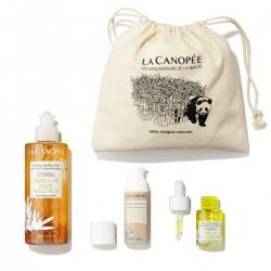 La Canopée - Coffret Soin Visage Spécial Peau Grasse - Vegan & 100% Naturelle - Select store Cosmétiques Vegans