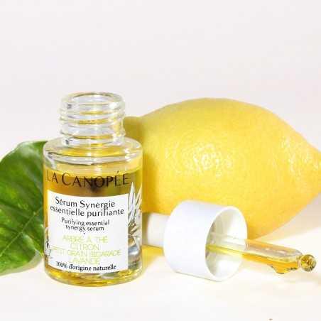 La Canopée - Sérum visage Synergie essentielle purifiante - Vegan & 100% Naturelle - Select store Cosmétiques Vegans