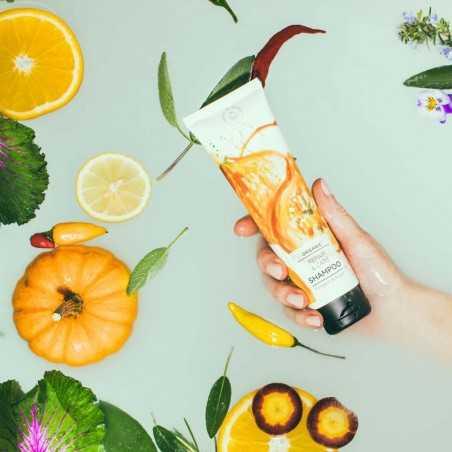 Hands on Veggies - Shampoing Soin et Réparateur - Courge & Huile d'Argan - Vegan & Bio - Select Store éthique Cosmétiques Vegans