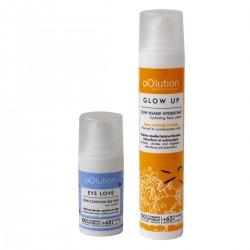 Oolution - Coffret Duo Soins Visage Eclat Bio - Soin hydratant vegan, naturel & bio - Select store Cosmétiques Vegans