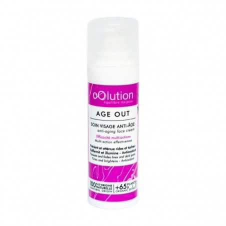 oOlution - Soin Visage anti-âge global - Age out - Cosmétique vegan, naturel & bio - Select store Cosmétiques Vegans