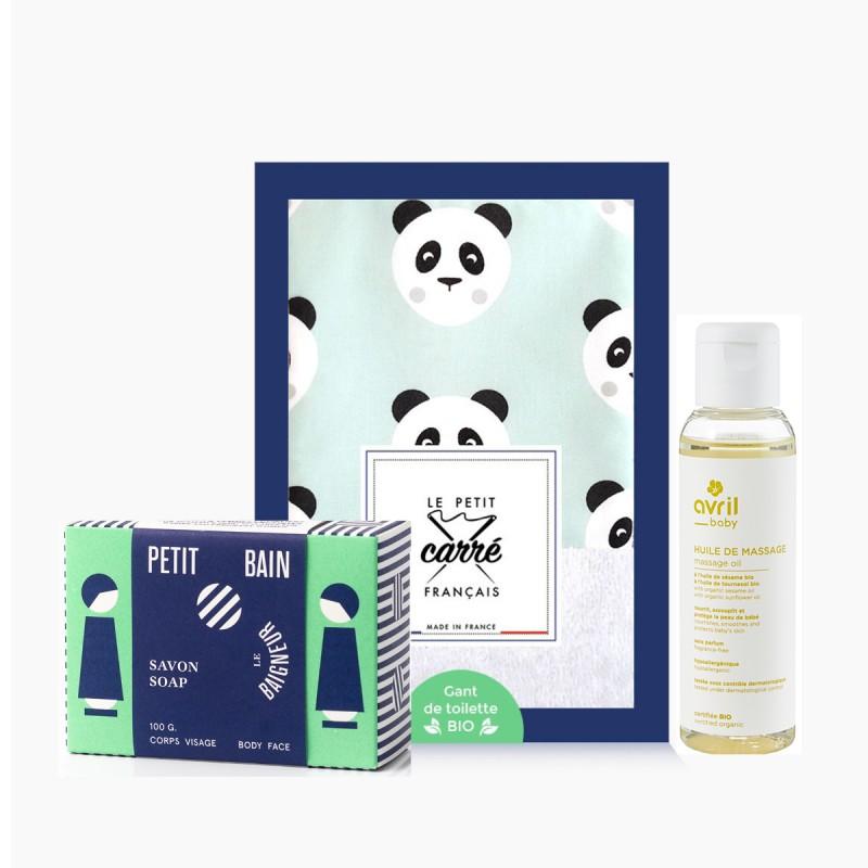 Cosmétiques Vegans - Coffret Toilette de Bébé - 3 Produits - Naturel, Vegan & Bio - Select Store éthique Cosmétiques Vegans