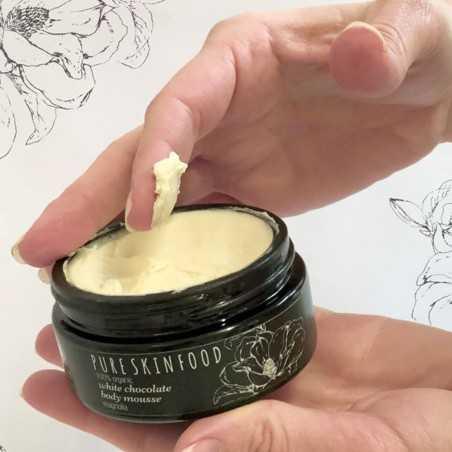 Pure skin food - Chantilly pour le corps - Chocolat blanc & Vanille - Select store éthique Cosmétiques Vegans