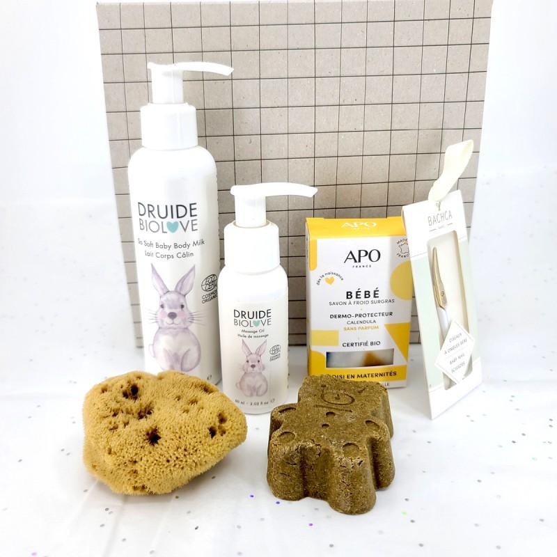 Coffret Mon tout petit - Idée Cadeau - Vegan, Bio & Made in France - Select store éthique Cosmétiques Vegans
