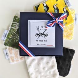 Coffret 6 lingettes lavables - Eco-responsable & Zéro Déchet - Cadeau Made In France - Select Store Cosmétiques Vegans