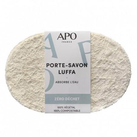APO - Porte-savon 100% naturel en Luffa - Zéro déchet - Select store éthique Cosmétiques Vegans