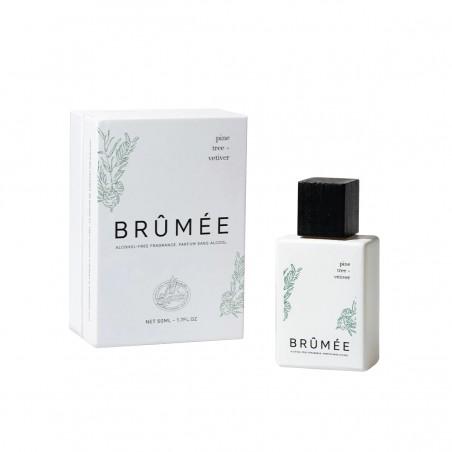 Brûmée - Parfum unisexe - Sève de Pin et Vétiver - Sans alcool & Naturel - Select store éthique Cosmétiques Vegans