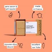 Nettoyant Visage Solide Tout doux - Curcuma, Jojoba & Cameline