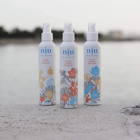 NIU & You - Crème solaire minérale Vegan, Naturelle & Bio - Select store éthique Cosmétiques Vegans
