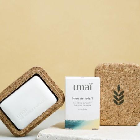 UMAI - Écrin en liège pour soins solides - Zéro déchet - Select store éthique Cosmétiques Vegans