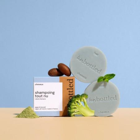 Unbottled - Shampoing solide tout nu - Cosmétique Solide & Zéro déchet - Select store éthique Cosmétiques Vegans