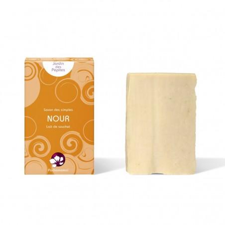 Pachamamaï - Nour - Savon solide exfoliant - Vegan & Zéro déchet -Select Store Cosmétiques Vegans