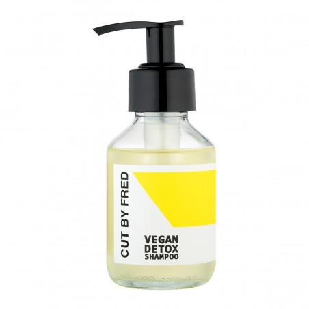 Cut by Fred - Shampoing liquide format voyage mini - Détox - Vegan & Fabriqué en France