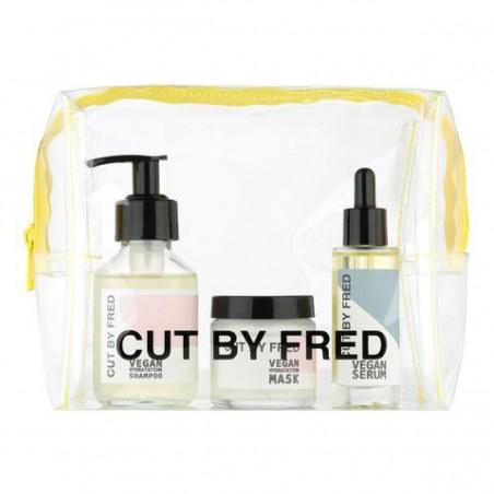 Cut by Fred - Coffret formats mini Routine Hydratation Cheveux - Vegan & Fabriqué en France